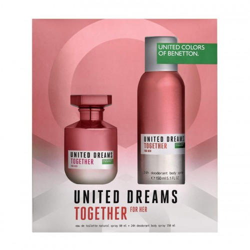 United Dreams Together for Her Eau de Toilette Set