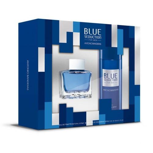 Blue Seduction Eau de Toilette Set