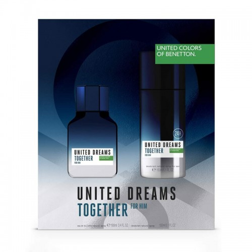 United Dreams Together for Him Eau de Toilette Set