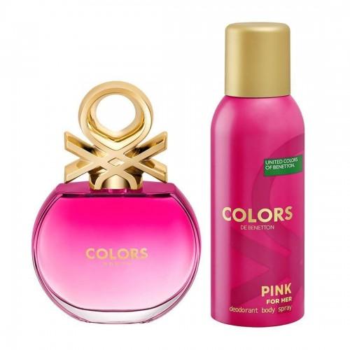 Colors Pink Eau de Toilette Set